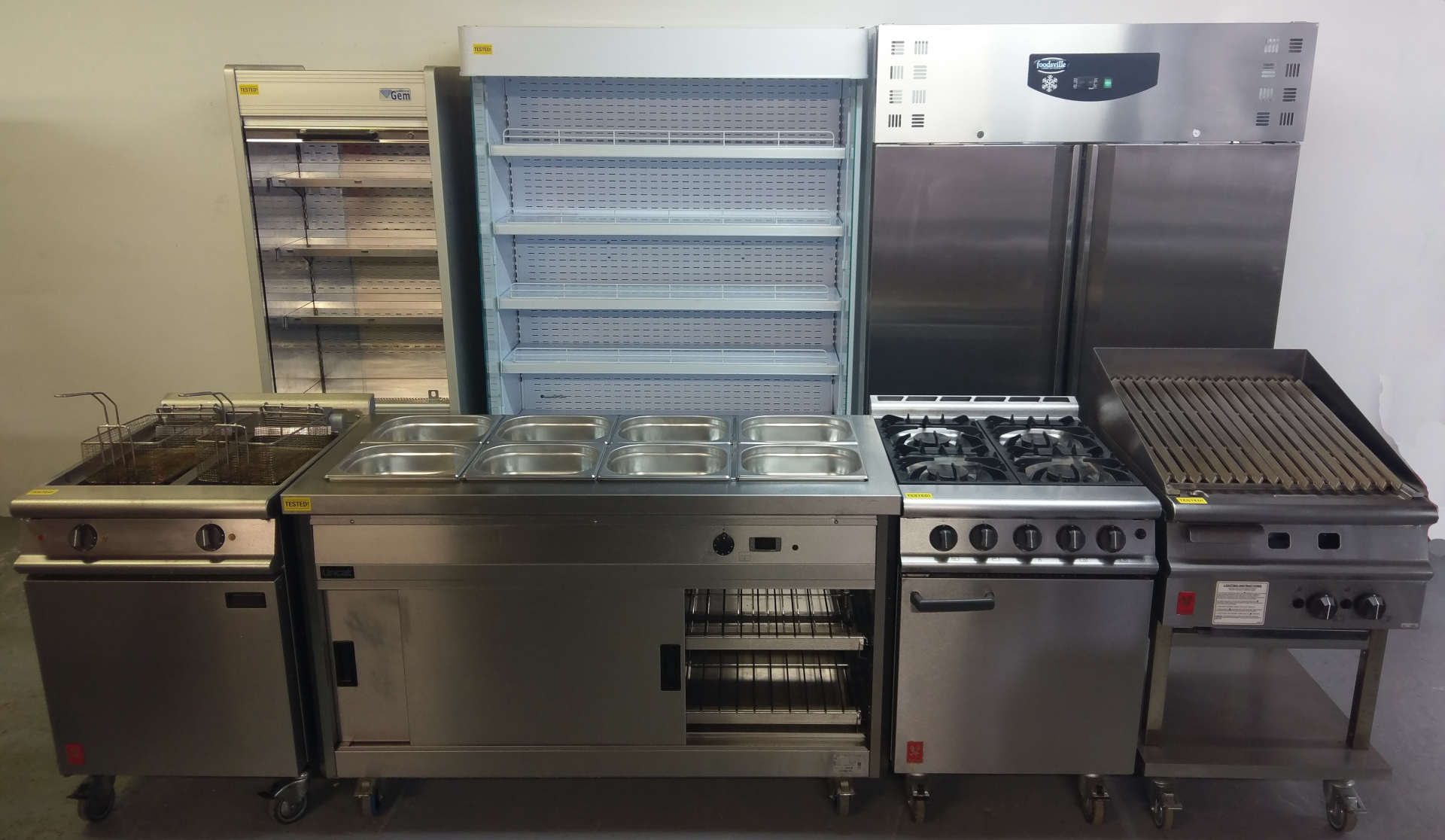 Used <br>Cooking, <br>Hot Storage,<br>Refrigeration & Miscellaneous Equipment