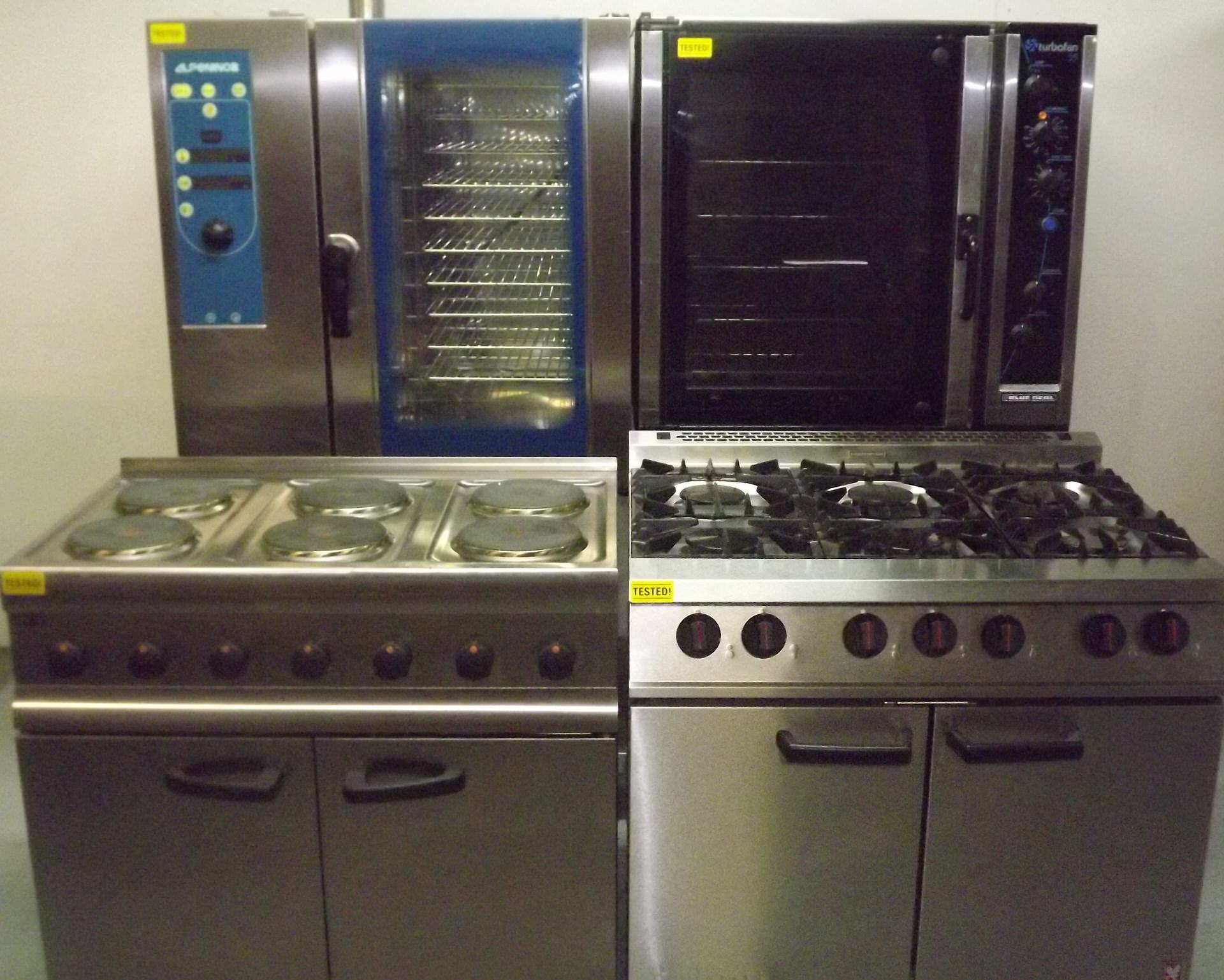 Used <br>Cooking and <br>Hot Storage<br> Equipment